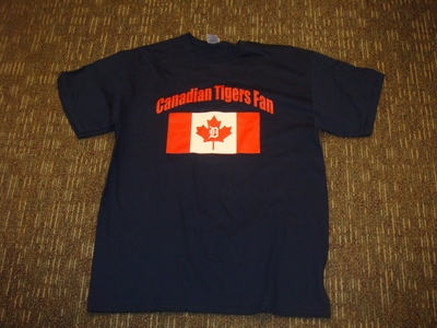 Canadian Tigers fan T-shirt.JPG