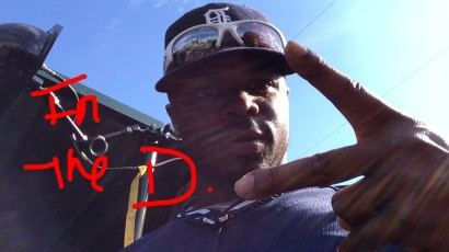 Rajai Davis took a stab at SnapChat.